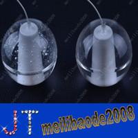 Wholesale Lighted Shower Heads Rain - 12-Heads LED Crystal Glass Ball Pendant Lamp Meteor Rain Ceiling Light Meteoric Shower Stair Light Droplight Chandelier