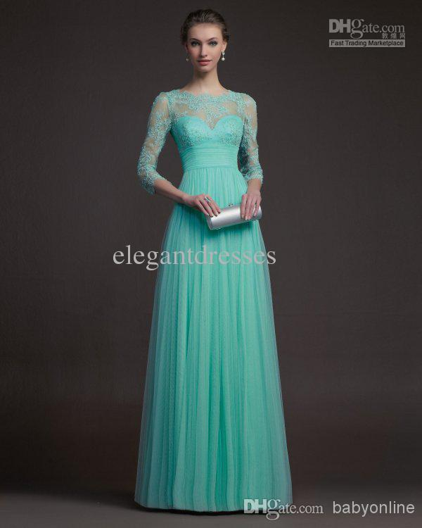 Turquoise Mother of Bride Dresses the Best