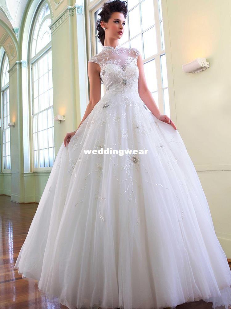 turtleneck wedding dresses | Wedding