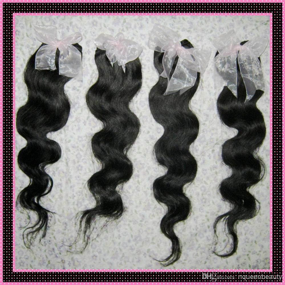 7a trama peruviana dei capelli umani elaborati a buon mercato trame 6 pz / lotto più venduti venditore DHgate 12