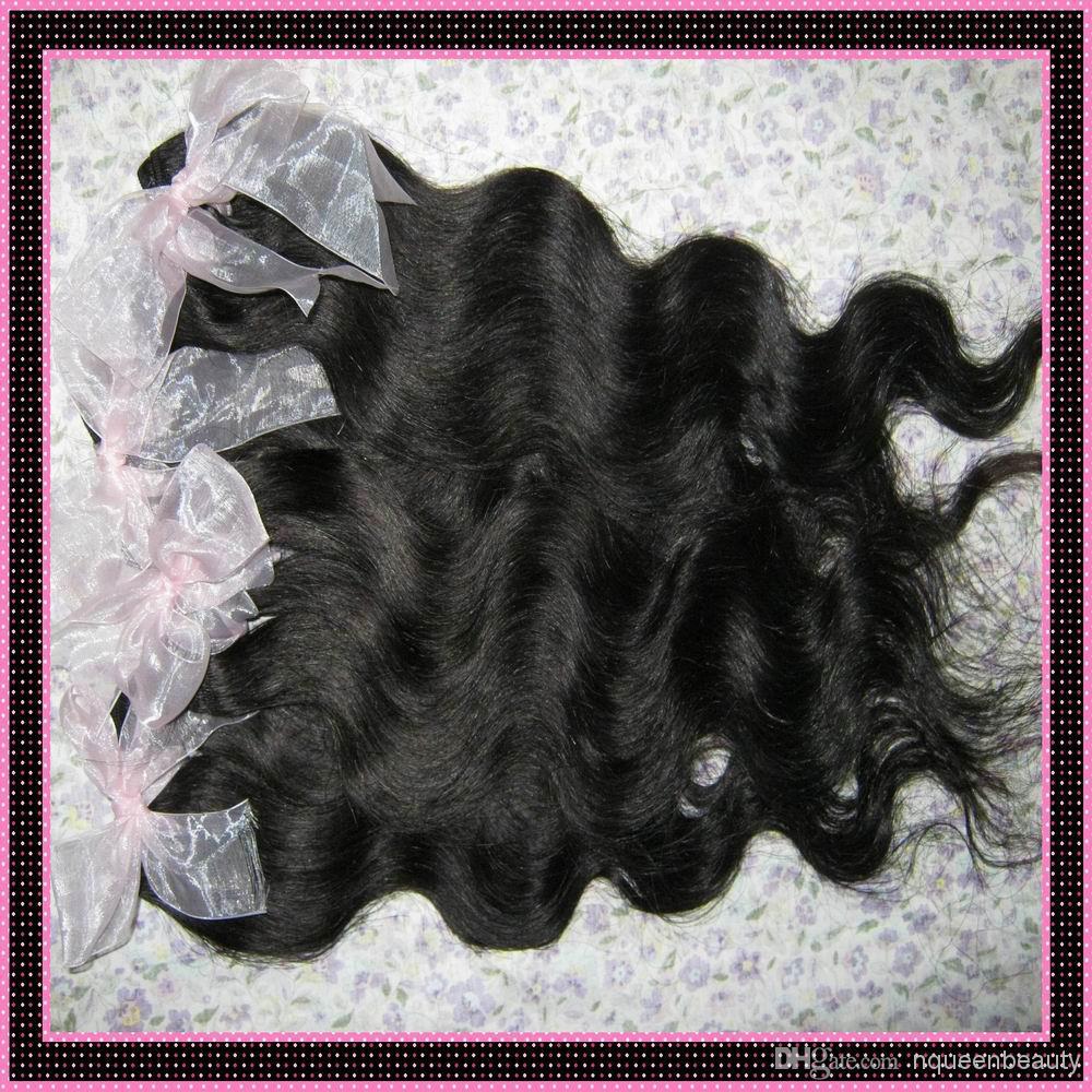 7 Bündel = Peruanische Bodywave-Haarverlängerung verarbeitete menschliche Haare Gewebt Günstige peruanische Haarverlängerungen Verifiziertem Anbieter!