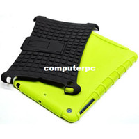 Wholesale Dropship Ipad Cases - For ipad mini 1 2 Rugged Hybrid Case dual layer Stand hard cover for iPad Mini,hot selling high quality free shipping Dropship