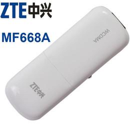 Wcdma Usb Modem Canada - ZTE MF668A WCDMA 3g wireless internet card 3G USB Modem and 3G dongle Data Card