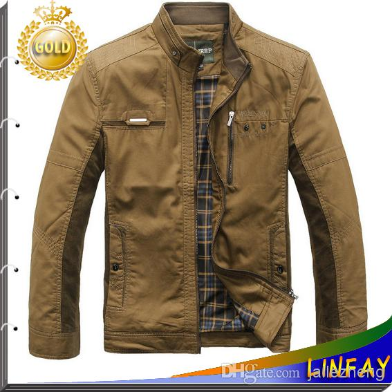 2014 New Style Jackets For Men Coats Autumn And Winter Coat Brand ...