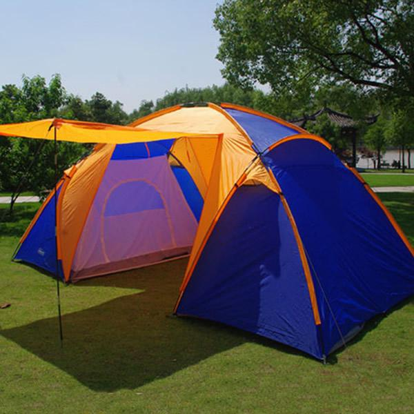 2 Bedroom 46 Man Camping Tent Outdoor Camping Dome Tent Family Festival Dog Shelter Emergency Shelters From Isports 8041 Dhgatecom