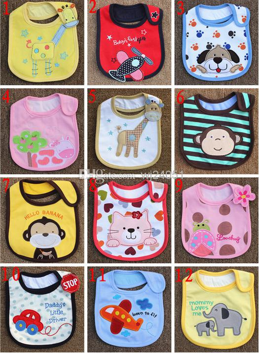 2014 New Baby Bibs Baby Bibs Waterproof 3-layer Clothing Accessories Baby  Baby Bibs Aprons Cotton Handkerchief Children Animals Online with   1.92 Piece on ... 4841e5bc70