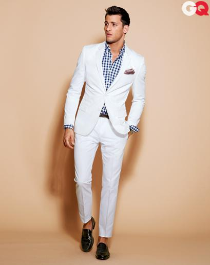 2014 Fashion Custom Made Beach White Groom Tuxedos Groomsmen Men Wedding Wear Slim Suits For Dresses Mens Sale