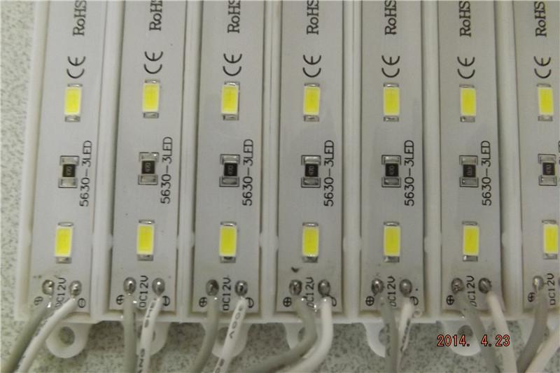 5630SMD LED-Modul Licht Lampe IP66 Wasserdichte LED-Module für Schilder LED-Hintergrundbeleuchtung SMD 5630 3 LEDs DC 12V-Module Anzeigemodule