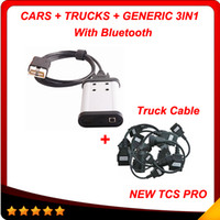 Wholesale diagnostic tools for trucks - V2013.3 with Bluetooth cdp+ pro 3in1 multi-language tcs cdp pro with truck cables Super auto diagnostic tool In stock
