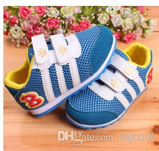 Children's shoes fashion net shoes sneakers loafers direct selling trainers canvas shoes manufacturer 5pair lot