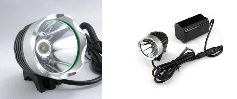 800 التجويف كري xml t6 led دراجة دراجة ضوء كشافات 3 طرق دراجة ضوء دراجة الجبهة مصباح المصباح + عقال + شاحن + بطارية 8.4 فولت حزمة