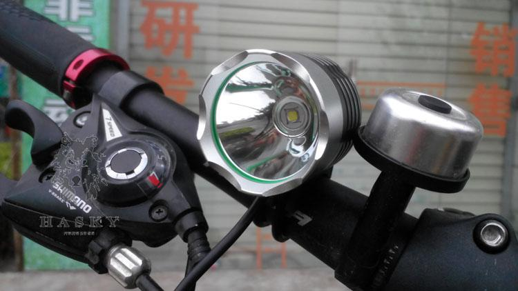 Wholesale 1800LM 10W LED Bicycle HeadLight Five Colors Choices CREE XML T6 Led Headlamp Outdoor Sports Lights