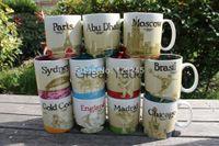 Wholesale Free Pottery - Wholesale! Starbucks ICON city mug bone china coffee mug 16oz 470ml 2pcs lot free shipping