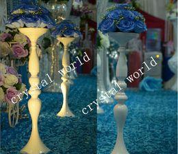 Centerpieces do candelabro para casamentos on-line-peças centrais do candelabro da parte superior de tabela do cristal para casamentos, centerpieces de cristal para a tabela wedding 11 por atacado