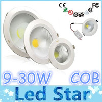 9W 12W 15W 18W 25W Dimmable COB Led Downlights 3