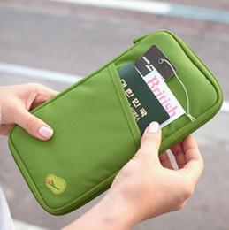 Wholesale Multifunctional Coin Purse - Travel Passport Credit ID Card Cash Holder Organizer Wallet Purse Case Bag Multifunctional Bag