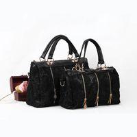 Wholesale Totes Vintage Wholesale - New 2016 Female Bags Fashion Vintage Lace Bag Shoulder Bag Women Handbag Messenger Bag ,Free Shipping H10516