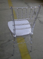 event, hospitality, restaurant, banquet stackable plastic chairs - transparent stackable resin tiffany chair for any event