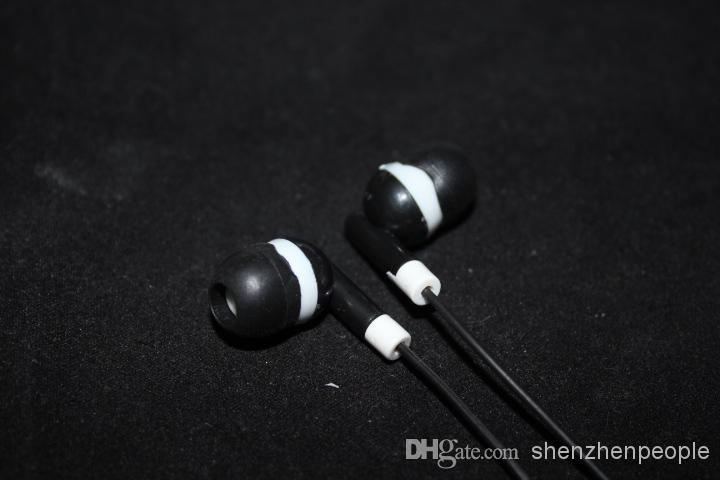 stereo hörlurar för smartphone öronproppar i öronstil för mobiltelefon hörlurar fem färger gratis frakt