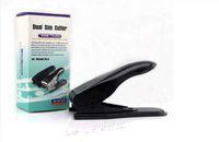 nano sim için kesici toptan satış-Unviersal Çift Mikro Sim Kesici 3 1 Mikro Sim Kesim Aracı Uygun Nano Kart Kesici DIY için iPhone 6 6 s 7 Artı