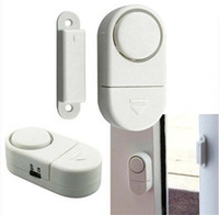 Wholesale Wireless Door Entry - 10pcs included Wireless Sensor Door Window Entry Home Security Alarm Burglar Alarm Bell(f)
