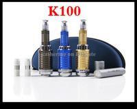 Wholesale E Cigarettee - K100 E Cigarette k100 Mod Ecig K100 E Cigarettee with 18650 18350 2200mAh Battery AAA quality DHL Free Shipping