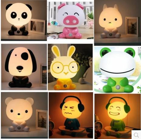 2018 2014 new children bedroom lampcartoon animal pattern table see larger image aloadofball Images