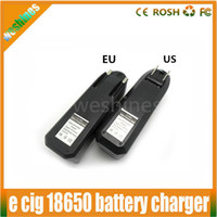 Wholesale Cheapest E Cig Battery Mods - Cheapest 18650 charger US EU Wall Charger for Electronic Cigarette kit E Cig Mod 18650 18350 14500 Lithium Battery Charger 2015 hot sale