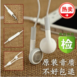Wholesale Cheapest Iphone Box - Cheap 3.5mm earphones headset headphone Earphone for iphone 4 4S 3GS iphone4 ipod touch ipad 2 3 4 with retail box free shipping