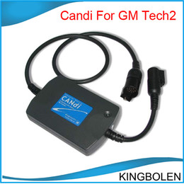 Wholesale Tech2 Free Shipping - High Quality GM TECH2 CANDI Interface module for GM tech2 One year Warranty China Post Air Free Shipping