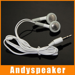 Wholesale Ipad Hook - B Earphone headphone for iPhone for iPad MP3 MP4 for mobile phone free ship 200pcs lot