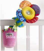 Spedizione gratuita Lamaze Lights Sounds Wrap and Go Flower kid toy