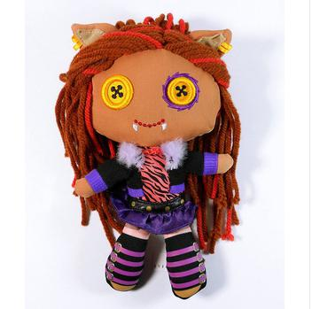 Monster High Clawdeen Wolf Soft Plush Doll For Child ToyFrankie