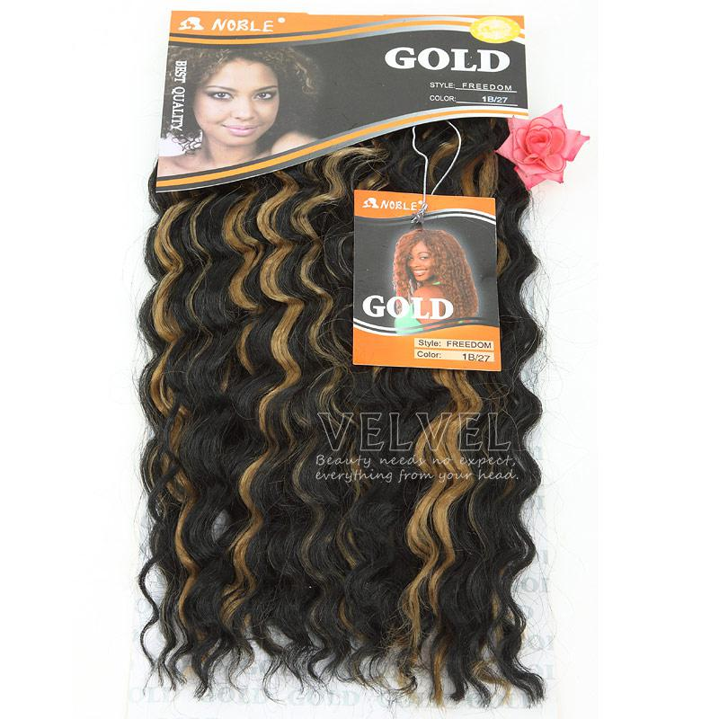Fast shipping noble gold freedom 11b271b30 loose wave machine 1pcfast shipping noble gold freedom 18 color11b271b30 loose wave machine hair weaving weft 120g synthetic hair extensions pmusecretfo Gallery