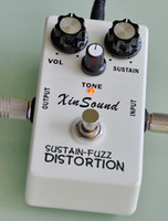Novo Xinsound FD-20 distorção Fuzz Effects Pedal e True Bypass by HANDMADE