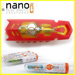 Wholesale Toy Bugs Insects - Free shipping bug nano electronic pet toys,robotic insect toys for children,baby toys for holiday,10pcs lot