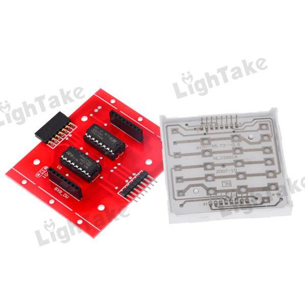 8x8 LED Matrix Scrolling Message Changing In Serial