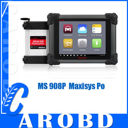 Wholesale Online Automotive Tools - Original AUTEL MaxiSYS Pro MS908P AUTEL MaxiDas ms 908p Maxisys pro DS708 Diagnostic system online update automotive diagnostic tool