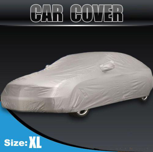 top popular NEW Full Car Cover Waterproof Sun UV Snow Dust Rain Resistant Protection Size XL Free shipping 2020