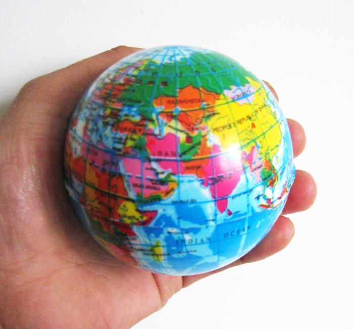 76mm world map foam ball earth globe stress relief ball atlas 76mm world map foam ball earth globe stress relief ball atlas geography toy out door toys unique childrens toys from showmefashion 532 dhgate gumiabroncs Images