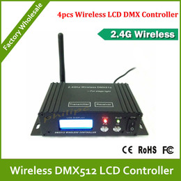 Wholesale Lcd Stage Lights - DHL Free Shipping LCD wireless DMX512 Receiver&Transmitter for stage light