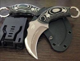 beste taschenmesser messer Rabatt Tropfenverschiffen Scorpion Claw Karambit Multi Taschenmesser Fixed Blade Kampf Camping Messer AUS-8A Klinge 59HRC Bestes Geschenk