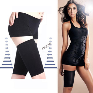 Wholesale New Thin Leg Thigh Shaper Burn Fat Sockings Compression Stovepipe Warmer D Drop shipping