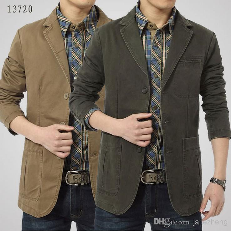 New Fashion Western Style Men'S Jacket For Men Coat Brand Clothing ...