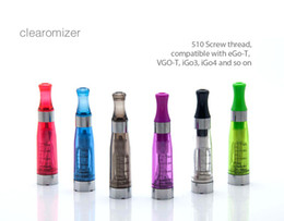 Wholesale Cheapest Ce5 Cartomizer - CE4 Atomizer Free shipping,High quatily! eGo CE4 Clearomizer Cartomizer Cheap price Atomizer VS GS H2 aomizer CE5 CE5 Plus CE4 Plus