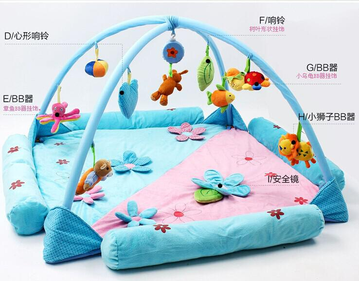120 120baby Play Mat Twins Game Mat Best Gift For Kids Baby Play Mat