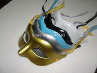 Wholesale Cheap Men Masquerades - Inventory mask cheap deal Mens Mask Halloween Masquerade Masks Zorro Dance mask