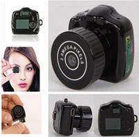 Wholesale Top Best Dvr Camera - Best ! Pocket Mini Camcorder Video DVR Covert Camera DV, Mini Hidden Camera, Y2000 Smallest Mini DVR in The World top sale free shipping