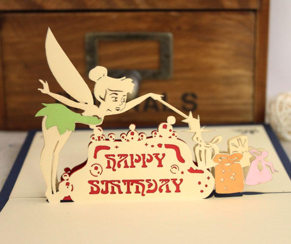 Novelty Birthday Cards Christmas New Year Fairy Gift Handmade – Novelty Birthday Cards