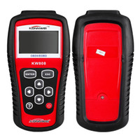 Wholesale Scan Tool For Cars Computer - Free DHL KW808 GS509 OBD2 OBDII LCD Car Scantool AUTO Automotive Truck Diagnostic Scanner Tool Computer Vehicle Fault Code Reader Scan